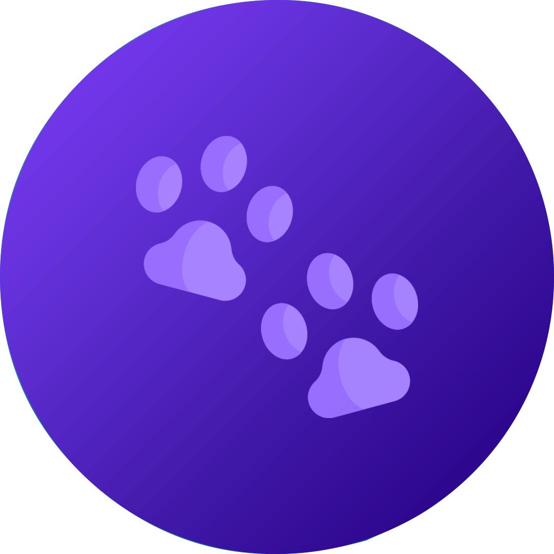 ValuWrap - Paw Print Cohesive Bandage - 5cm
