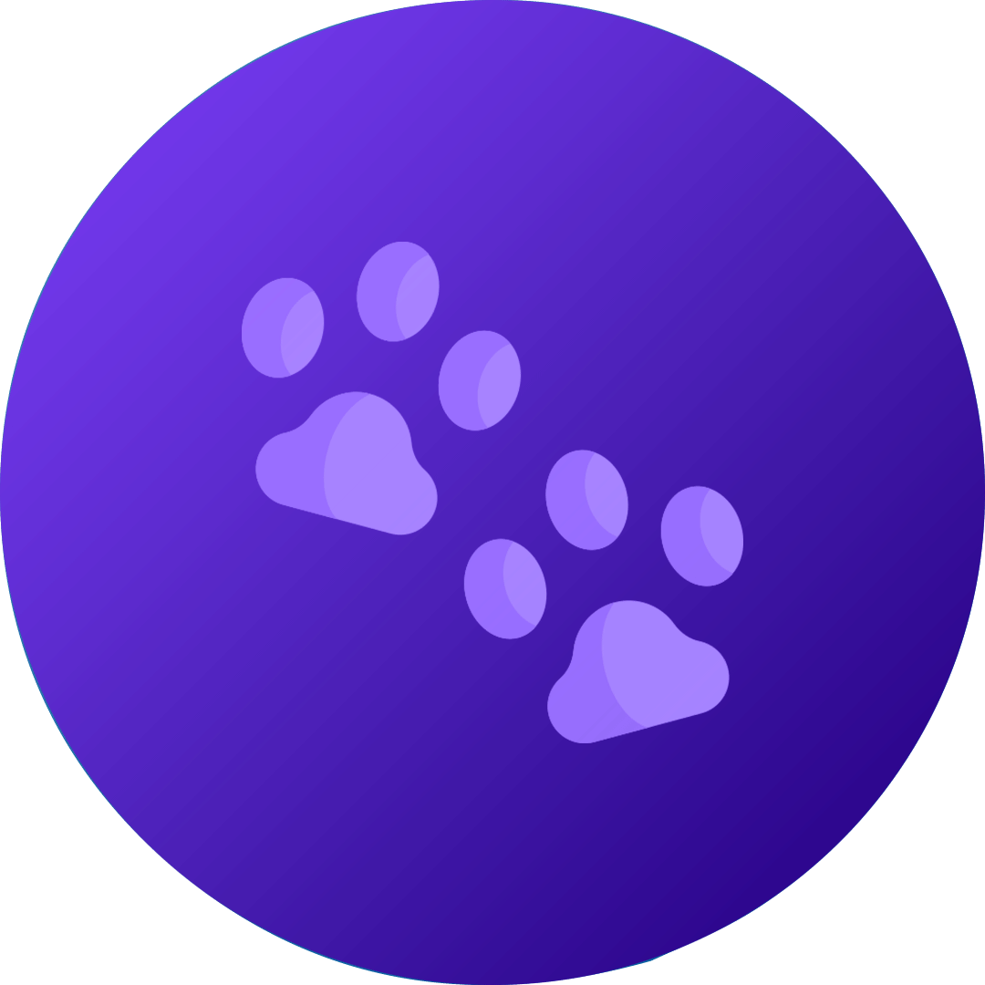 The Big 5 Protection Pack For Dogs 22kg-45kg (Purple)